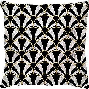 Capa de Almofada Leque Gold