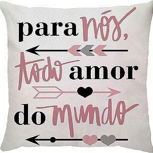 Capa de Almofada Todo Amor