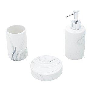 Kit para Banheiro - Cerâmica Marble