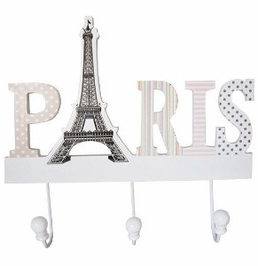 Gancho Porta Chaves de MDF Paris