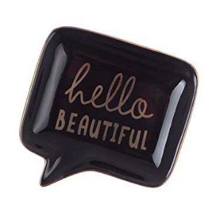 Mini Prato Decorativo Hello Beautiful
