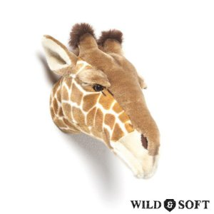 Cabeça Decorativa Girafa Ruby Wild & Soft ®