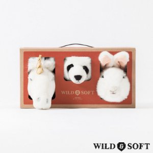 Lovely Box com 3 Mini Cabeças - Wild & Soft
