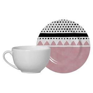Xícara de Chá Geometric Design