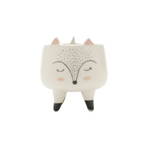 Cachepot Sleeping Fox Pequeno