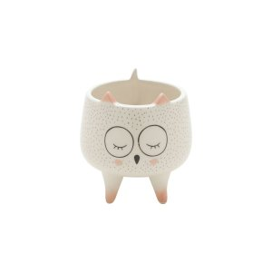 Cachepot  Sleeping Owl Pequeno