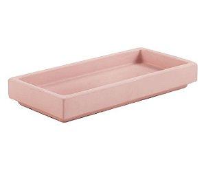 Bandeja Rosa de Cimento Pequena - Mart