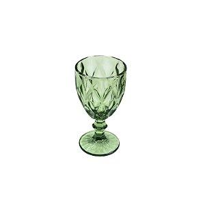 Jogo de 6 Taças Água Diamond Verde