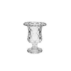 Vaso de Vidro Sodo Cálcio Diamond