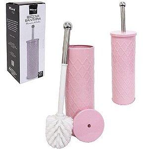 Escova de Vaso Sanitário Rosa