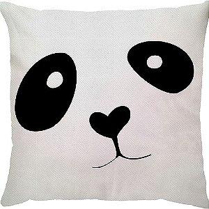 Capa de Almofada Urso Panda