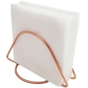 Porta Guardanapo Rose Gold Basic