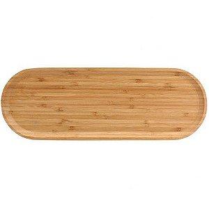 Bandeja de Bambu Oval 40 cm