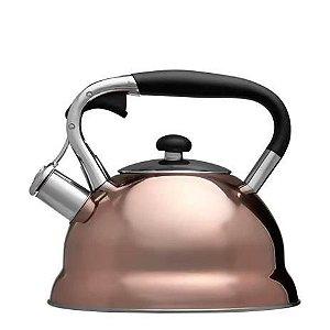 Chaleira Inox Bronze - Mimo Style