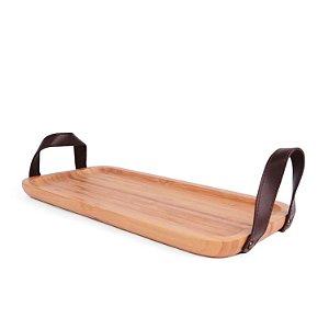 Bandeja de Bambu com Alça 35 cm Ecokitchen - Mimo Style