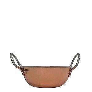 Mini Caçarola Para Servir Aço Inox Rose Gold - Mimo Style