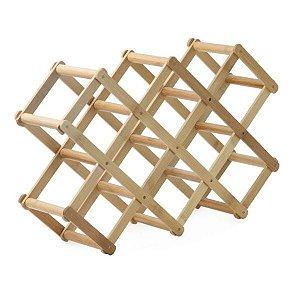Adega de Bambu Retrátil - Mimo Style