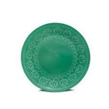 Prato Sobremesa Relieve Verde - Yoi