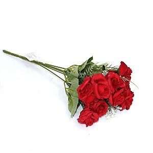 Buquê Flores Rosas Vermelhas