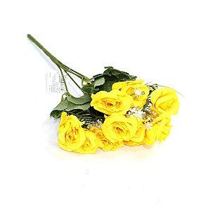 Buquê Flores Rosas Amarelas