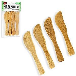 Espátula para Manteiga de Bambu
