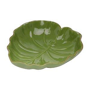 Folha Decorativa de Banana Leaf Verde 16 cm