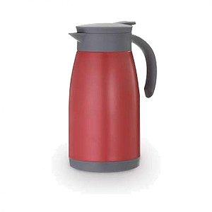 Garrafa Térmica Parede Dupla Vermelha - 1,5 Litros