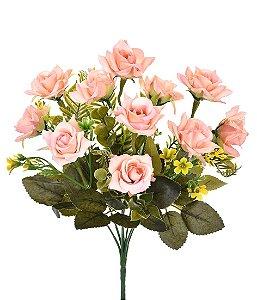 Buquê Rosas Salmão