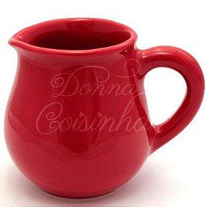Leiteira de Cerâmica Vermelha