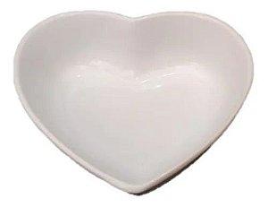 Travessa de Coração Branca 500ml
