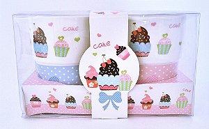 Canecas Cupcake Dupla