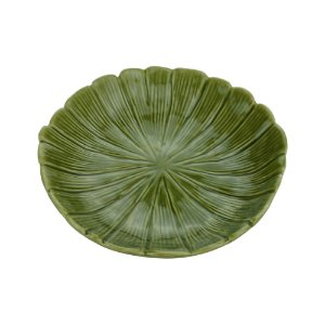 Folha Decorativa Banana Leaf Verde 19,5 cm