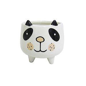 Cachepot de Ursinho Panda com Pé