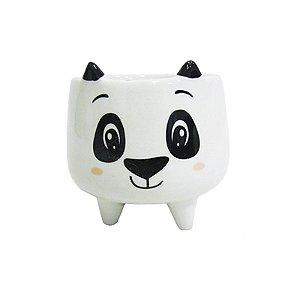 Cachepot com Pé Urso Panda