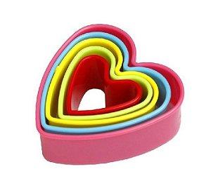 Cortador Coração Colors