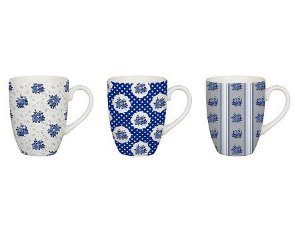 Conjunto de 3 Xícaras para Café Isadora