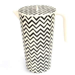 Jarra Eco Black Chevron
