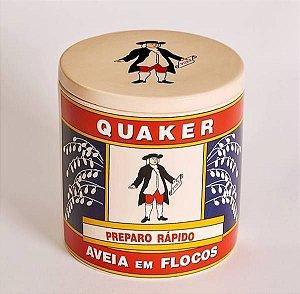Pote em Cerâmica - Aveia Quaker Pequeno