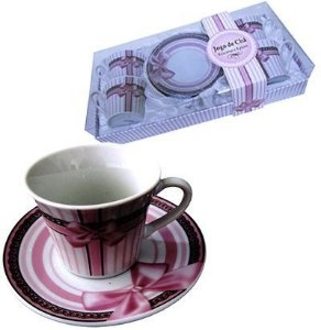 Jogo de Xícaras para Chá - Laço