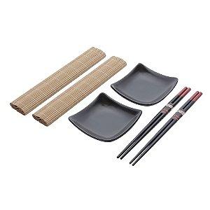 Conjunto Esteira Para Sushi 2 pessoas