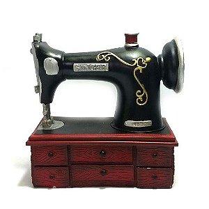 Cofrinho - Máquina de Costura Retrô