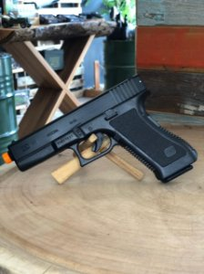 Pistola Airsoft Kwc K17 Spring Mola 6mm 230 Fps
