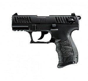 Pistola Walther P22 Black - Cal .22 LR - 10 Tiros