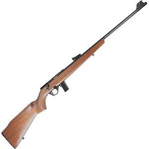 """8122 Rifle CBC Coronha em Madeira Cal. 22LR - Cano 23"""" - 10 Tiros - Oxidado"""
