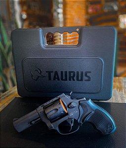 """Revólver Taurus RT856 - Cal. 38SPL - 3"""" - 6 tiros - Oxidado Fosco"""