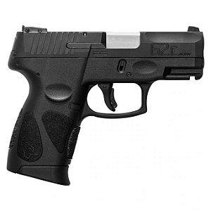 """Pistola Taurus G2c - .40S&W - 3,3"""" - 10+1 Tiros - Carbono Fosco / Inox Fosco"""