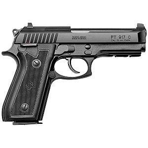 """Pistola Taurus 917 -9mm - 4,3"""" 0 17+1 Tiros Carbono Fosco"""