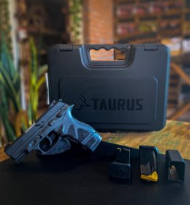 "Pistola Taurus TH9 - 9mm - 4,3"" - 17+1 Tiros - Tenox"