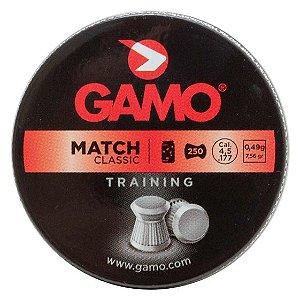 Chumbinho Gamo Match Diabolo 4.5mm 250un.