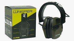Abafador Eletrônico Whisper Aurok - 22db-protege-amplifica